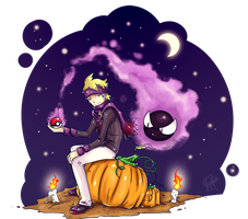 Halloween: Morty and Gastly