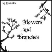 Branches And Flowers by fedekiller