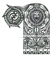 Warriors Tattoo Adinkra-page-001 by thehoundofulster
