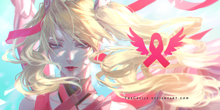 Mercy- BCRF (+ speedpaint) by TheCecile