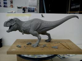 Rex Progress by Thomasotom