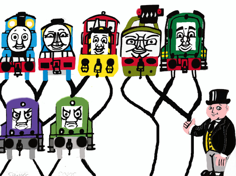 Thomas Creator Collective 100th Video Tribute 12 by tcr11050