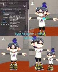 How to make a Baby Inklings (SFM Version) by CryRanger