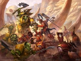 Bloodbound vs Ironjawz by DevBurmak