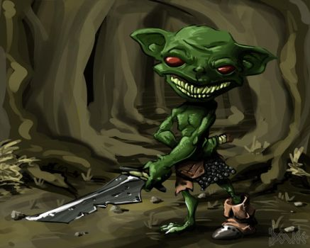 Goblin thuggie by Le-Doude