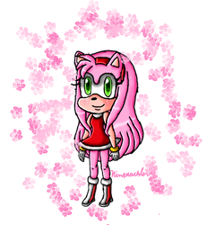 Long hair Amy remake by ninpeachlover