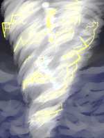 Electrifying Tornado by SorceressIgnis