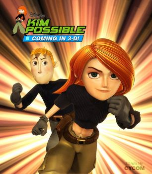 Kim Possible Teaser Poster by CYCOMarts