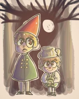 Over the Garden Wall by Doodlingloser