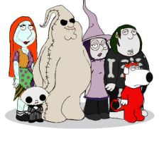 NBC FAMILY GUY by HalloweenBloodyQueen
