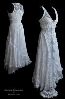 Dress white lace Somnia Romantica by M Turin by SomniaRomantica