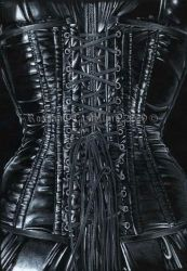 latex corset by RossanaCastellino