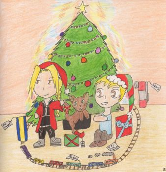 Merry Christmas Full Metal by Sunsetsurfer21