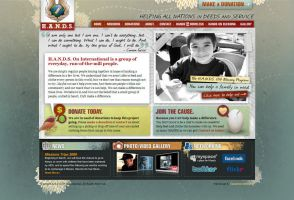 Church Charity Website by Cameron-Schuyler