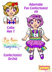 C.C. Adoptable Revealed: Confectionist Orchid by Magical-Mama