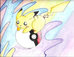 Pikachu Pikaball by AloveN