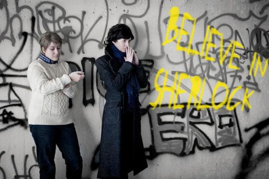 Sherlock - New in Town by Sheeris-Jemima
