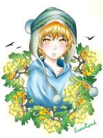 Yukine - Hawthorn eyes by EvanRank