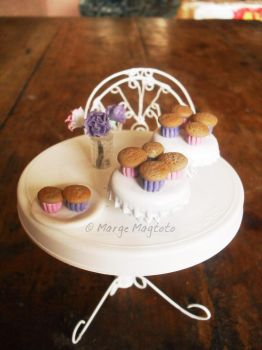 Miniature Cupcakes by margemagtoto