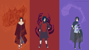 The Uchiha / Susanoo | Minimalist by Sephiroth508