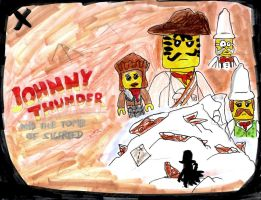 Johnny Thunder and the Tomb of Sigfried by SonicClone