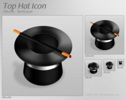 Top Hat Icon by 2Shi