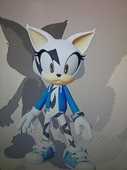 Mia the Cat in Sonic Forces by NewbornRay