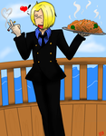 Sanji by ifreakinglovegames
