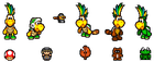 Chris Koopa SMB3 Power Ups by Snivy101