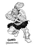 BARBARIANS GUARD Character Design by PaulSizer