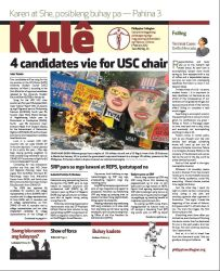 Philippine Collegian Issue 24 by kule1112