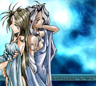 Experiment 003 - Bell and Urd by EsotericDreams