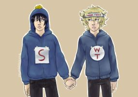 We were suppossed to be a duo. Remember, Tweek? by Lagunanegra