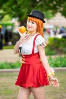 Nami Loves Oranges, Whole Cake Island One Piece by firecloak