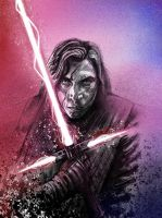 Kylo Ren - the battle within by SeanM33