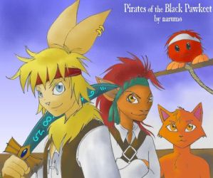 Pirates of the Black Pawkeet by Narumo