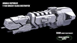 Destroyer WIP by DrMan