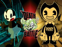 Oswald vs Bendy by ToxicMouse77