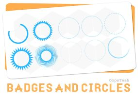Badges and Circles by OopsYeah