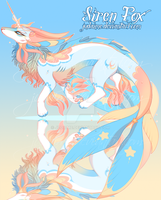 Siren Fox - Adopt Auction - CLOSED by Judaime
