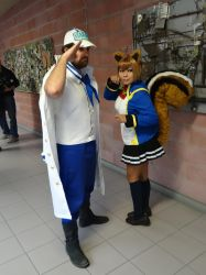 Marine (One Piece) and Makoto - Cos-Mo 2014 by Groucho91
