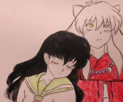 Inuyasha and Kagome by Matthew154274