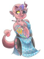 Tiefling Sorcerer by Reepicheep-chan