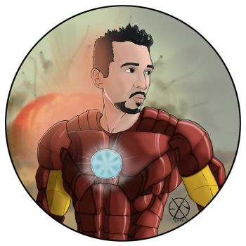 IronMan / Omar - Commission by Exejas