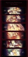 Ikkitousen Signatures Theme by BlackMd122