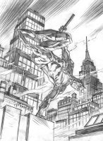 Daredevil commission wip by deankotz