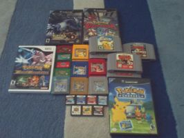 Pokemon Game Collection by 863lindz