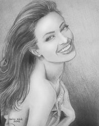 Angelina Jolie by Belleteyn