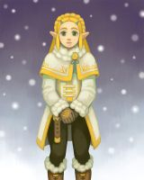 Princess Zelda - Snow Outfit by pancakesandhalibut