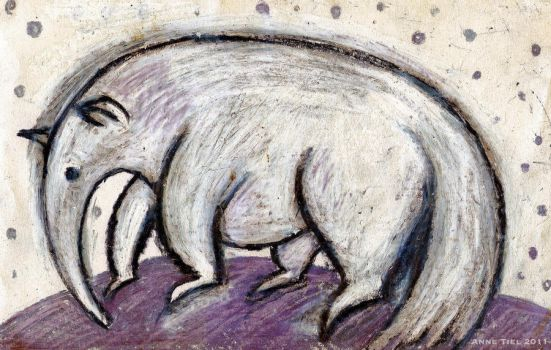 The anteater by boegeob